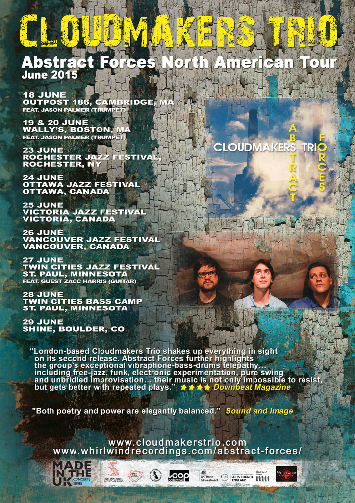 Cloudmakers Trio N American Tour